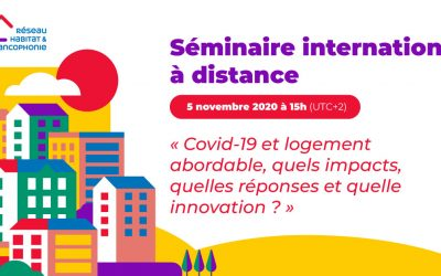 Séminaire international à distance – jeudi 5 novembre 2020 à 15h (UTC+2)